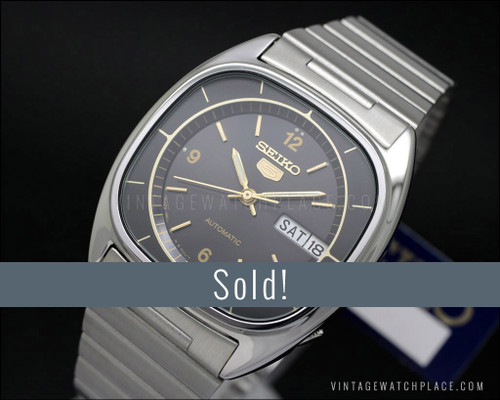 New Old Stock Seiko 5 Automatic vintage 6309-581A Superb!