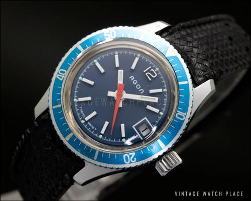 New Old Stock AgonLadies' Diver mechanical vintage