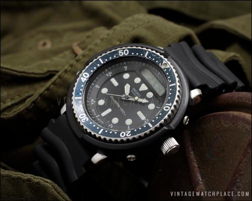Seiko Arnie H558-5000, Arnold Schwarzenegger Predator & Commando