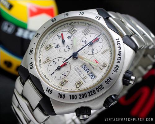 Universal Geneve Senna 41 Chronograph Chronometer certified