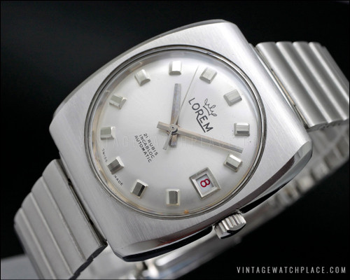 New Old Stock Lorem Automatic vintage watch, 21 jewels