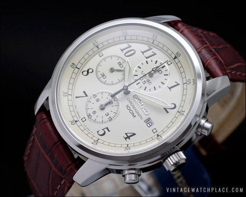 Seiko vintage Chronograph watch 7T92-0LT0