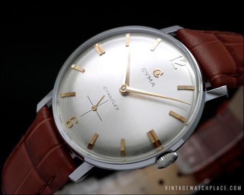 NOS Cyma vintage watch