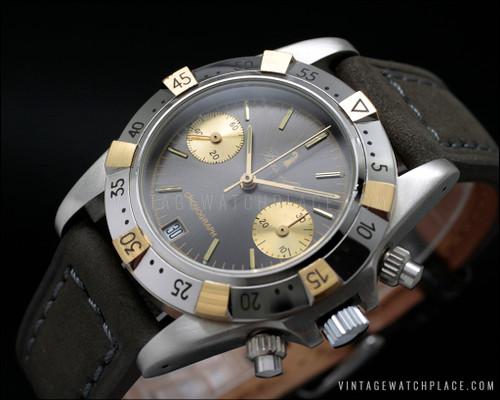 Bassel vintage mechanical chronograph Poljot 3133