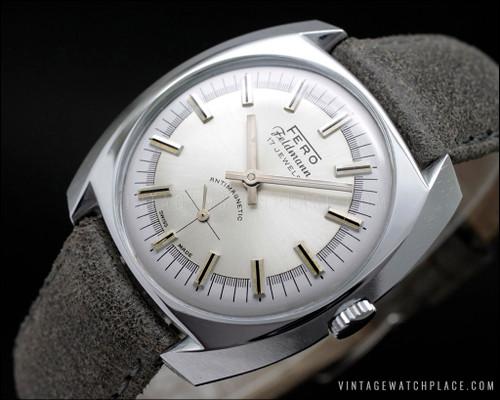Fero Feldman mechanical vintage watch