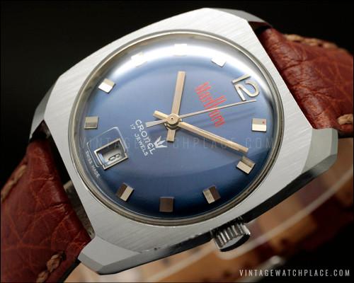 Coronel Marlboro vintage watch