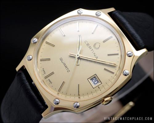 Very rare Certina vintage watch