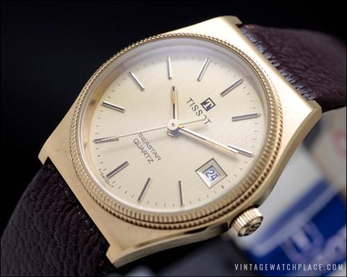 Tissot Seastar quartz vintage watch