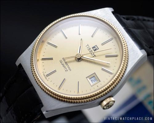 New Old Stock Tissot Seastar ladies quartz vintage watch