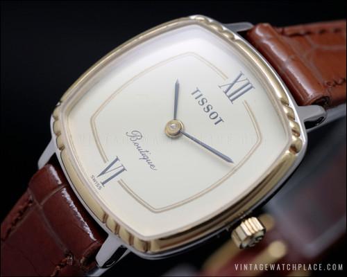 New Old Stock Tissot Boutique quartz vintage watch