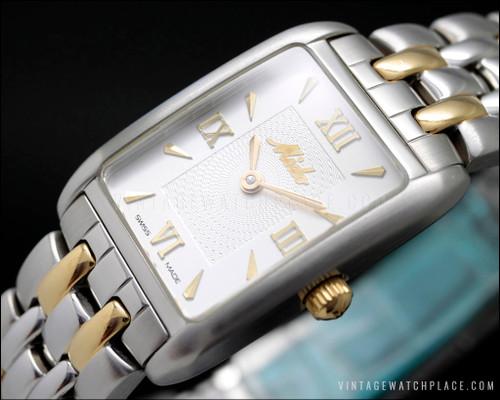 Mido vintage NOS watch guilloché
