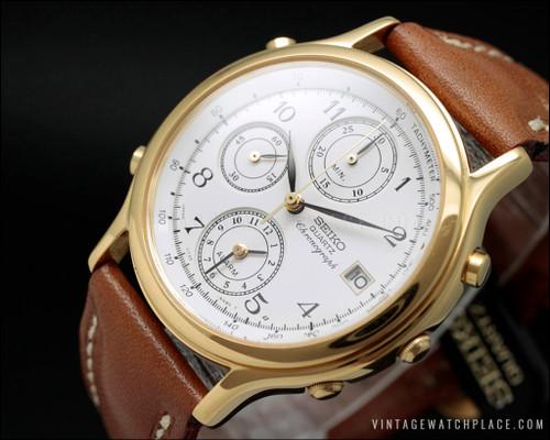 New Old Stock Seiko chronograph 7T32-6A50