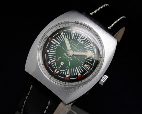 Thermidor Diver Style NOS 70s Mechanical Vintage New Old Stock watch Cupillard 233-66 French movement