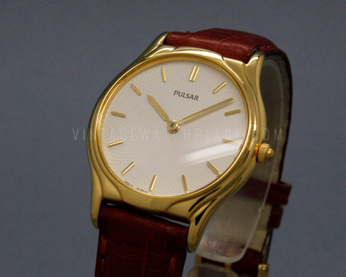 Pulsar By Seiko quartz watch, NOS, new old stock,  V500-6B60