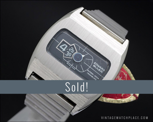 Buler Super-Nova, NOS, Jump hours vintage watch, 100% original!