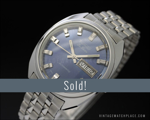 New Old Stock Thermidor De Luxe, 25 Jewels, automatic, NOS vintage watch, ETA 2789
