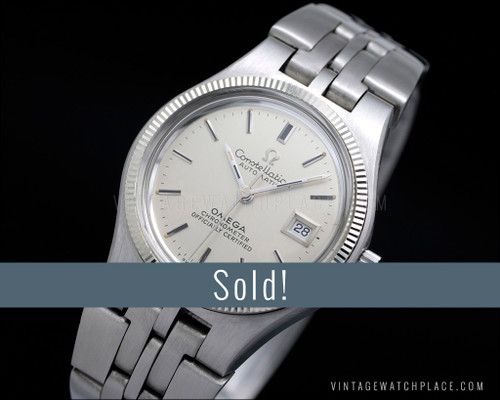 Ladies' Omega Constellation Chronometer Certified vintage automatic watch 568.0017