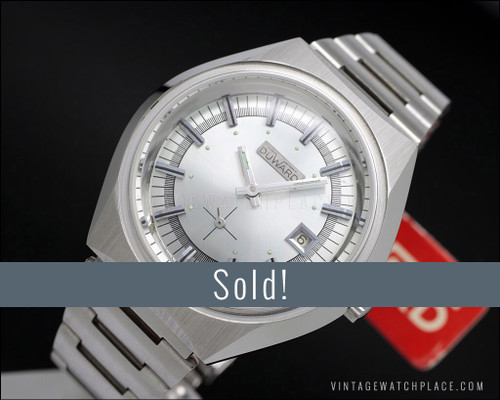 New Old Stock Duward mechanical vintage watch, FE 233-72