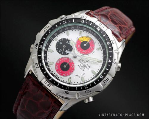 Festina chronograph Panda dial