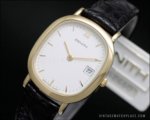 New Old Stock Zenith vintage watch quartz 90's