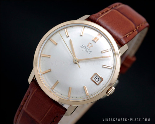 Omega Automatic 18K gold, 162.033, 562 movement