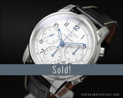 Longines Saint-Imier Collection Automatic Chronograph L2.752.4, pristine!