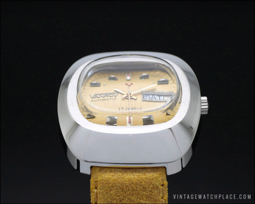 very rare Vanroy automatic vintage watch AS 2066