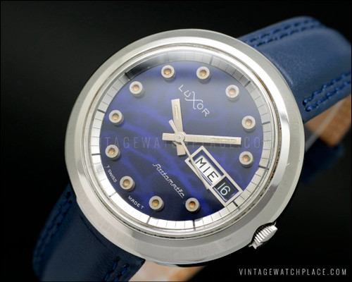 New Old Stock very rare Luxor automatic vintage watch