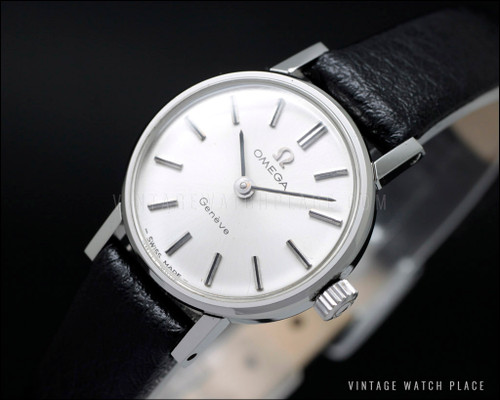 New Old Stock Omega Geneve mechanical cocktail ca. 1965
