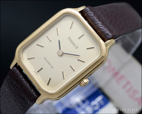 New Old Stock Ladies' Tissot quartz gold plated