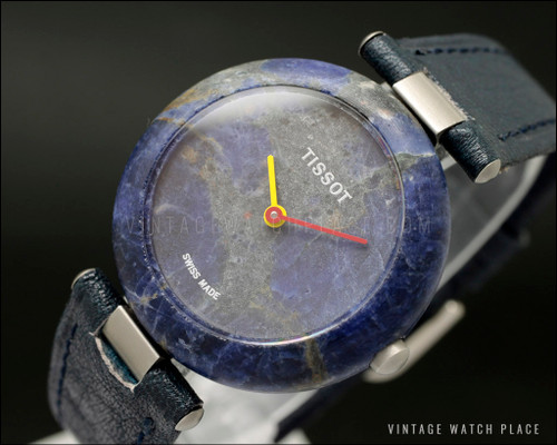 New Old Stock Ladies' Tissot Rock watch 150 quartz, Sodalite