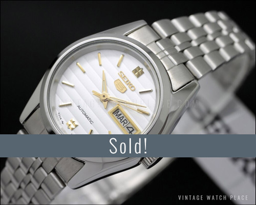New Old Stock Seiko 5 Ladies' automatic vintage watch