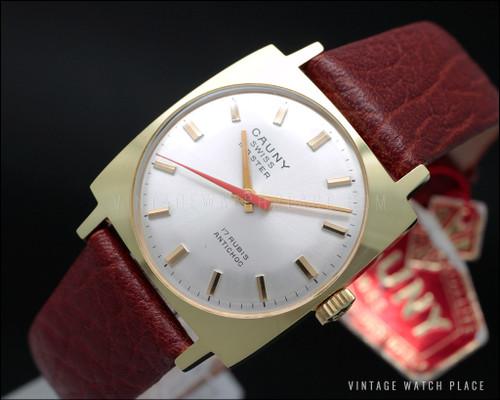 Cauny Swiss master vintage watch