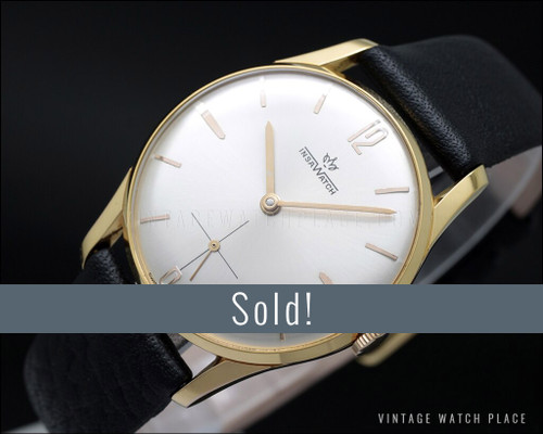 New Old Stock  insawatch classic 60's vintage watch