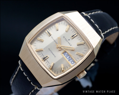 Radiant Blumar new old stock automatic vintage watch
