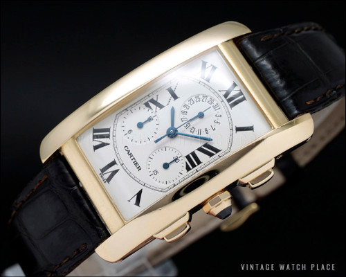 Cartier Tank Américaine Chronograph 1730