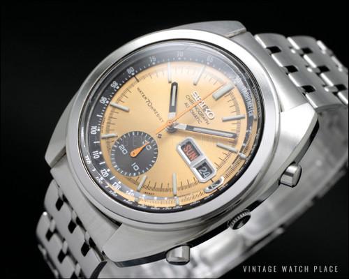 Seiko 6139-6012 automatic Chronograph
