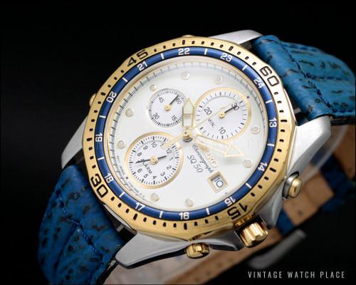 Seiko SQ 50 vintage watch