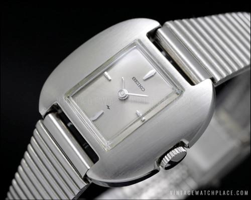Seiko mechanical vintage watch