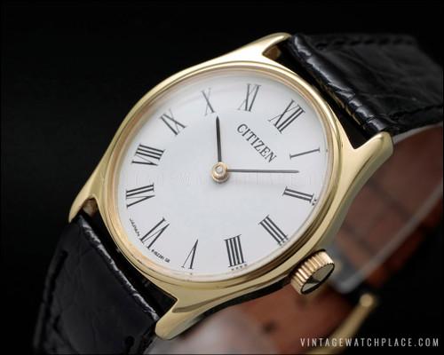 Citizen dress mechanical vintage watch