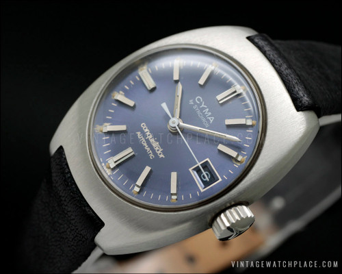 Cyma By Synchron automatic vintage watch