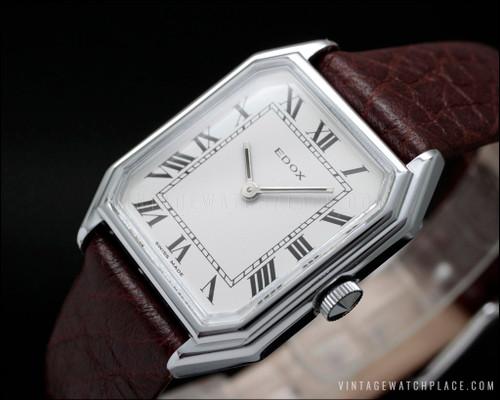 Edox vintage watch