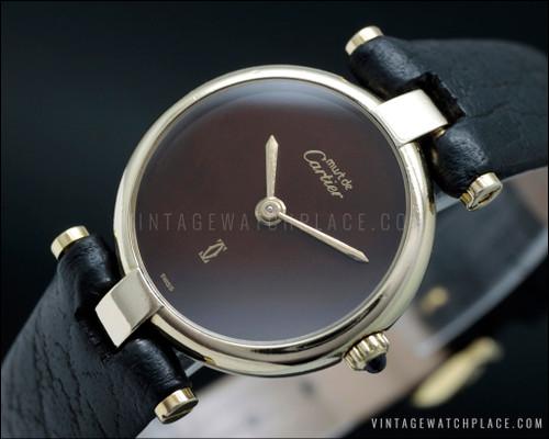 Cartier Must vintage watch