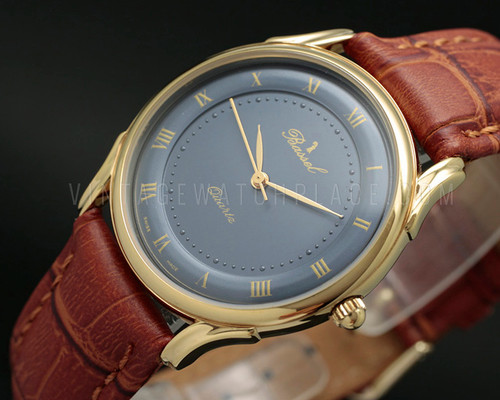 New Old Stock Classic Bassel quartz vintage watch