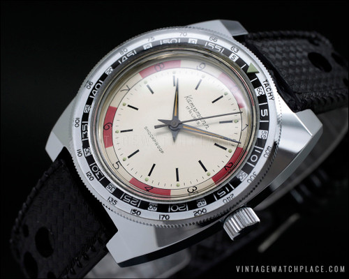 Very rare Kampmann vintage watch NOS