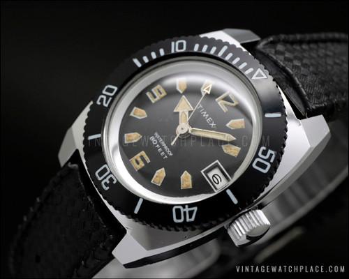Timex Diver vintage watch