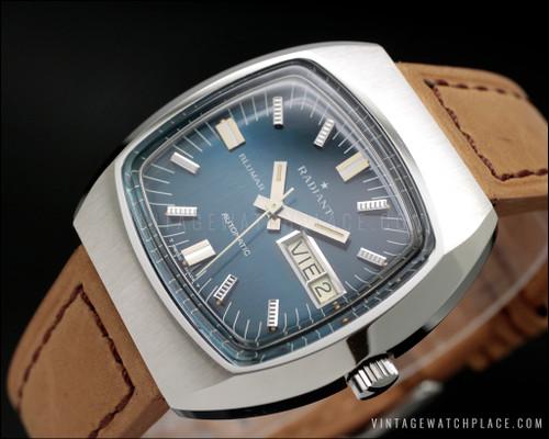 Radiant Blumar vintage watch