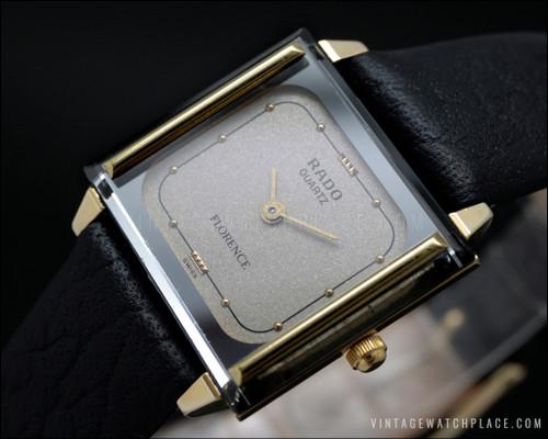 Rado Florence quartz vintage watch