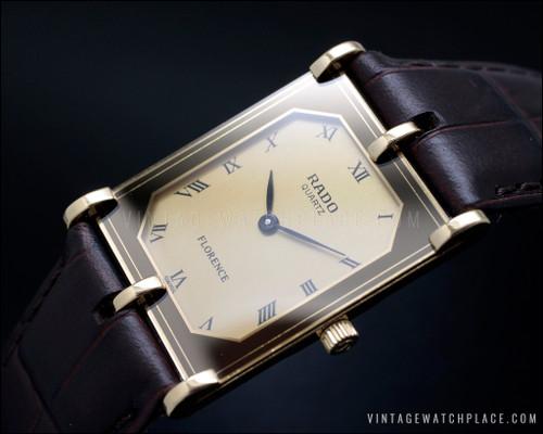 Rare Rado Florence quartz vintage watch