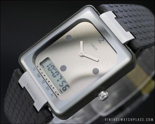 New Old Stock Tissot Twotimer Two Timer ana-digi vintage watch